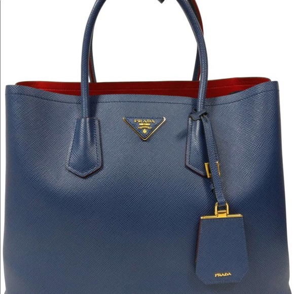 75c0206a8d38 Prada Bags   Authentic Bn2775 Blue With Red Interior   Poshmark